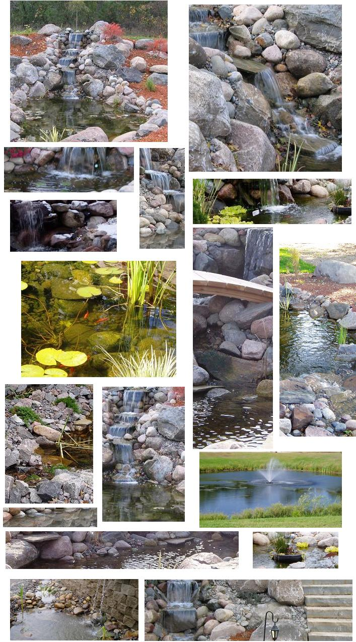 images of water features